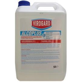 Virogard Alcolplus  più 75% igienizzante autoasciugante 5000 ml