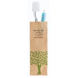 Natura set denti spazzolino+dentifricio   50pz