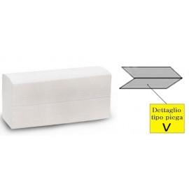 Asciugamani V 2veli  pura cellulosa  21x24   150pz