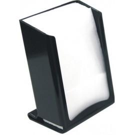 Dispenser porta tovagliolo bar 17 per 17 open nero