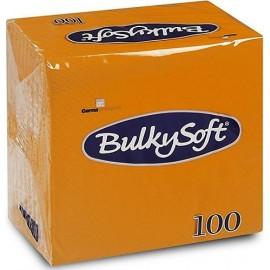 Tovagliolo arancio 24x24   2 veli pura cellulosa 30x100 pezzi
