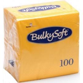 Tovagliolo giallo limone 24x24   2 veli pura cellulosa 100pz
