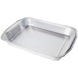 Vaschetta alluminio 12 porzioni con manici 40 pezzi