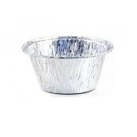 Vaschetta alluminio rotonda diametro 86  C1G  100pz