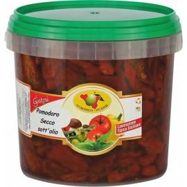 Pomodori secchi in olio sottovuoto secchio da 4kg