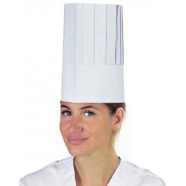 Cappello chef german style 10 pezzi
