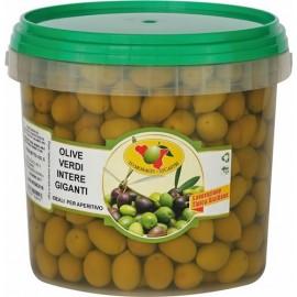Olive verdi spagna s.v. 3kg sgocciolato
