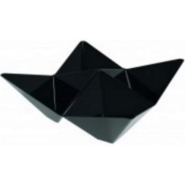 Coppetta origami 103x103 nera 4 vaschette   25 pz