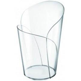 Bicchierino blossom trasparente 90 cc   15 pz