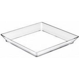 Vassoio medio trasparente 130x130   12 pz