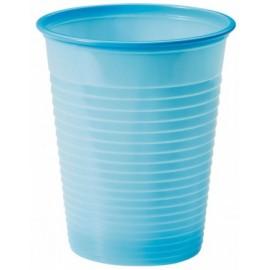 Bicchiere festa colore azzurro 200cc  [30]