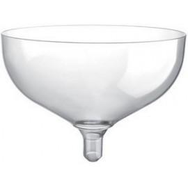 Bicchiere coppa champagne trasparente 205cc senza gambo 20pz