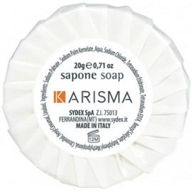 Saponetta tonda plissè Karisma 20gr 250pz